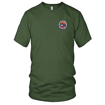 US Navy USS Muliphen AKA-61 Embroidered Patch - Mens T Shirt