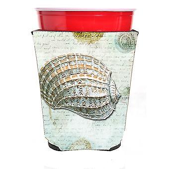 Carolines Treasures  SB3029RSC Shells  Red Solo Cup Beverage Insulator Hugger