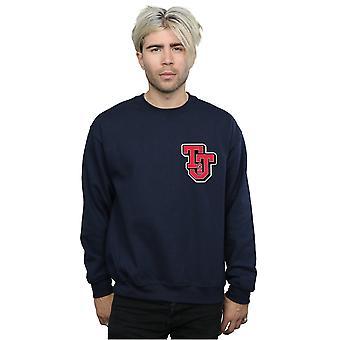 Tom And Jerry Men's Collegiate Logo Sweatshirt