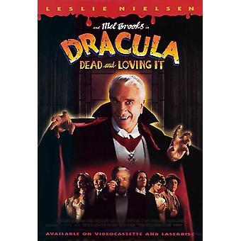 Dracula Dead ja verevä elokuvajuliste (11 x 17)