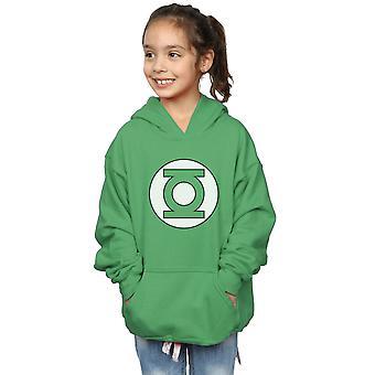 Chicas de DC Comics Green Lantern Logo Hoodie
