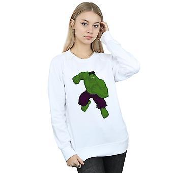 驚異女性のハルクのシンプルなスウェット シャツ