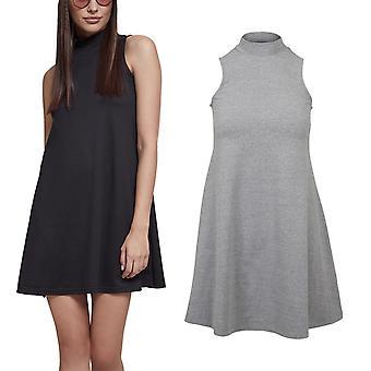 Urban classics ladies - A-LINE collar summer mini dress
