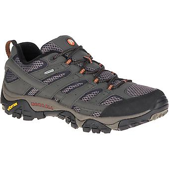 Merrell Mens Moab 2 GTX Waterproof Breathable Leather Walking Shoes