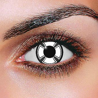 White Cross Contact Lenses