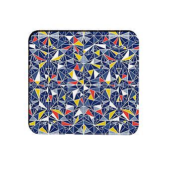 Melamaster Shards Square Moulded Coaster