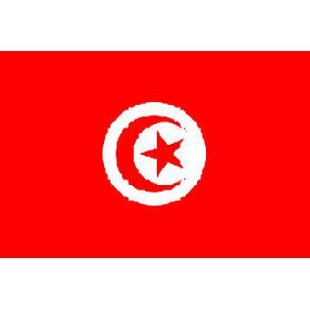 Tunisian lippu 5 jalkaa x 3 ft