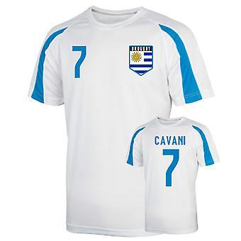 Uruguay Sports Training Jersey (cavani 7) - Kids