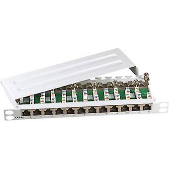 EFB Elektronik 691813SW 12 portów sieci patch panel CAT 6A 1 U
