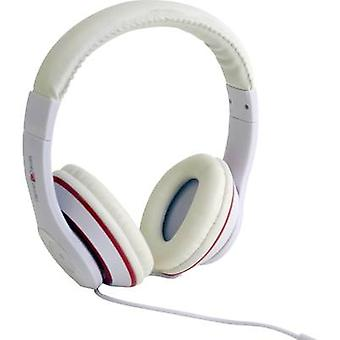 Gembird Los Angeles On-ear headphones On-ear Headset White