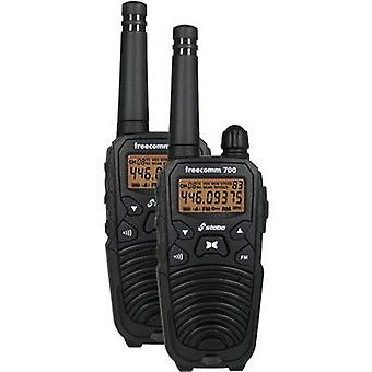 Stabo freecomm 700 20700 PMR handheld transceiver 2-piece set