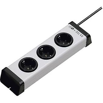 Ehmann 0200x00032301 Socket strip (w/o switch) 3x Grey PG connector 1 pc(s)