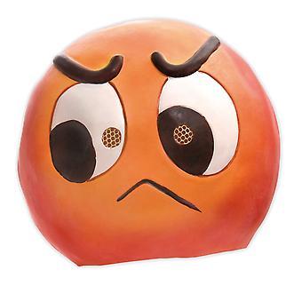 Emoticono desagradable amargo severo Emoji sonrisa risa máscara
