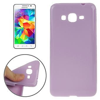 Protective case TPU case for mobile Samsung Galaxy Grand Prime SM G530H purple / violet