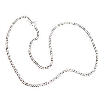 Sølv kjede sterling sølv solid 925 sølv kjede 90 cm