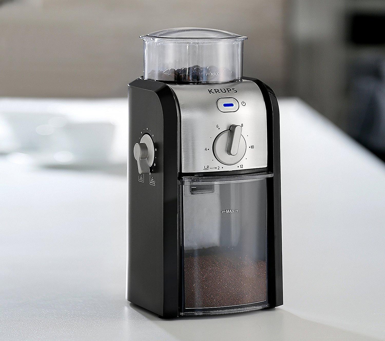 Krups Expert GVX231 Burr Coffee Grinder 225g/12 Cup Capacity 2 Year Guarantee