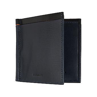 HOVEDET Herre card indehaveren pung med penge klip med RFID-chip beskyttelse blå 7443