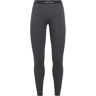 Icebreaker Women's Zone Leggings - Jet Heather/Black