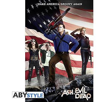 Ash vs. Evil Dead Poster America