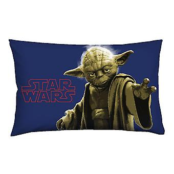 Star Wars Yoda bed pillow cover