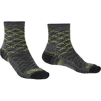Bridgedale Mens Hike Lightweight Merino Wool Pattern Socks
