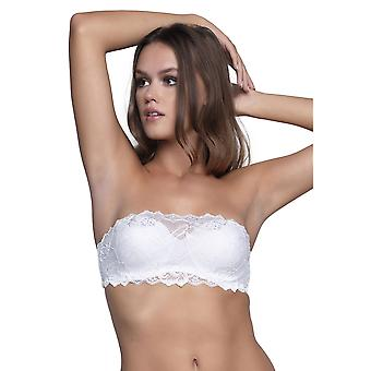 After Eden 10.09.5165 Women's Anna Lace Strapless Bandeau Bra