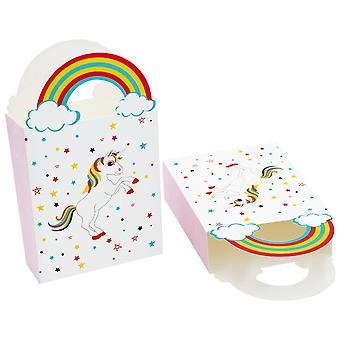 TRIXES Pack de unicórnio 50 Mini de doces festa favor sacos festas infantis