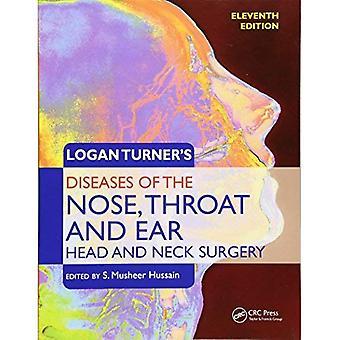 Maladies de Logan Turner le nez, la gorge et l'oreille: la tête et du cou chirurgie, 11e édition