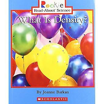 Vad är densitet?