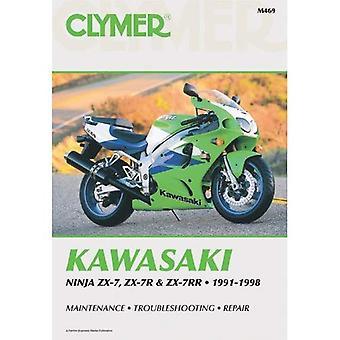 Kawasaki ZX7 Ninja, 1991-1998: Clymer Workshop Manual