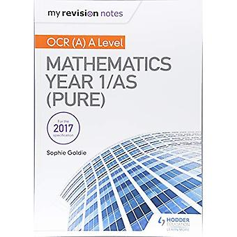 Meine Revision Notizen: OCR (A) A Level Mathematik Jahr 1/als (reine)