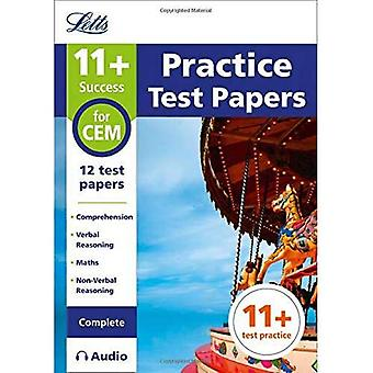 Letts 11+ Success - 11+ Practice Test Papers for the CEM tests