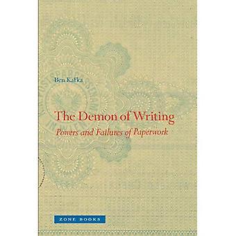 Kirjoittaminen Demon: valtuudet ja epäonnistumisia paperityötä