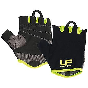 Urban Fitness Mens Weight Training Gym Exercise Gloves Black/Green