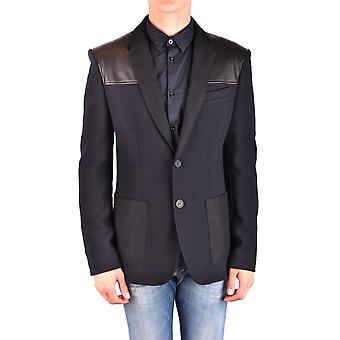 Balmain Ezbc005015 Men-apos;s Black Wool Blazer
