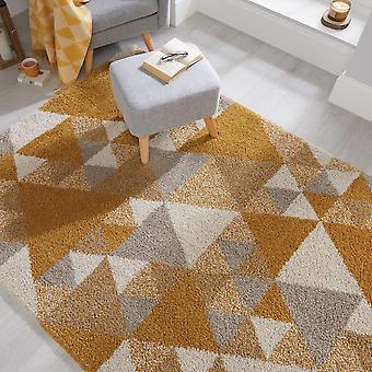 Dakari Nuru Teppiche In Ocker