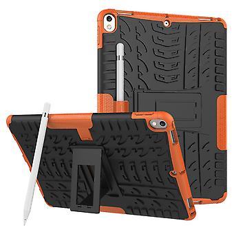 Für Apple iPad Air 10.5 2019 3. Gen Hybrid Outdoor Tasche Etuis Hülle Cover Orange