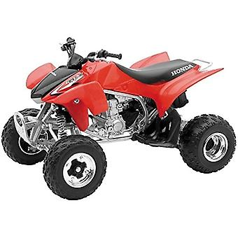 01:12 skalieren, Druckguss Honda TRX 450R ATV, rot