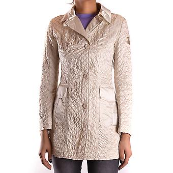 Geospirit Ezbc203030 Women's White Nylon Coat
