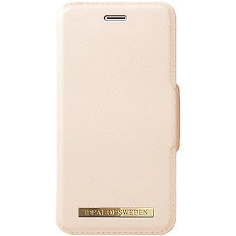 iDeal de Suecia iPhone 8/76s/6/SE Cartera de Moda - Beige