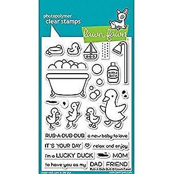 Lawn Fawn Rub-A-Dub-Dub Clear Stamps (LF1583)