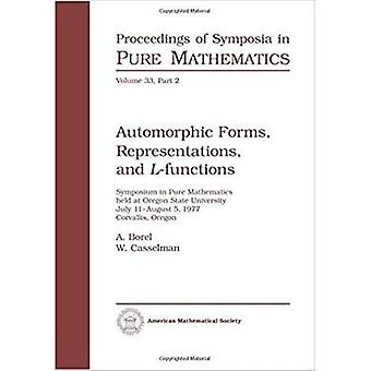 Automorphic Forms, Reprensentations, and L-Functions.