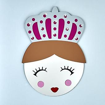 Floss & Rock Mirror Mask - Queen