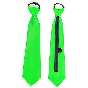 Bows and ties  Satin tie green