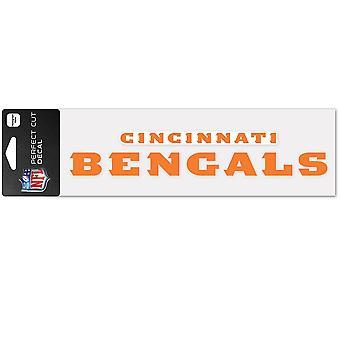 Vinheta wincraft 8x25cm-NFL Cincinnati Bengals