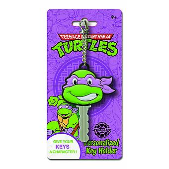 Key Cap - TMNT - Donatel Die Cut Holder Gifts Toys Nuovo Licenza 66991-04