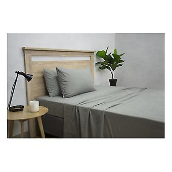Apartmento Micro Flannel Grey Sheet Set
