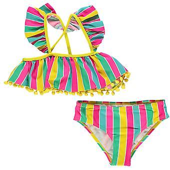 Handgefertigte Kinder Mädchen Badeanzug Junior Beach Badeanzug