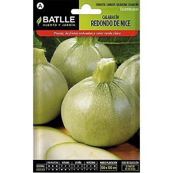 Batlle Summer Squash Ronde De Nice (Garden , Gardening , Seeds)