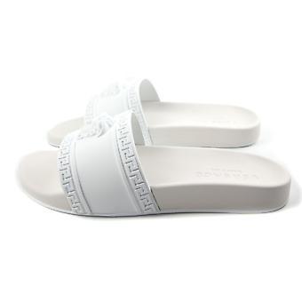 Versace Pool Sliders White